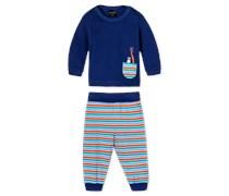 Baby Anzug 2-teilig dunkelblau