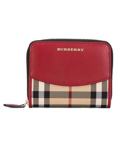 burberry damen portemonnaie mit karomuster reduziert. Black Bedroom Furniture Sets. Home Design Ideas