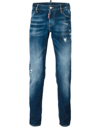 dsquared herren jeans in distressed optik reduziert. Black Bedroom Furniture Sets. Home Design Ideas