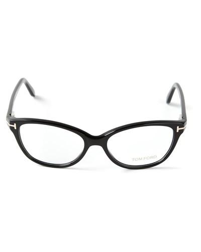 tom ford damen brille mit ovalen gl sern reduziert. Black Bedroom Furniture Sets. Home Design Ideas