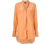 shawl collar oversized shirt
