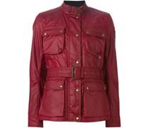 Taillierte Jacke mit aufgesetzten Taschen