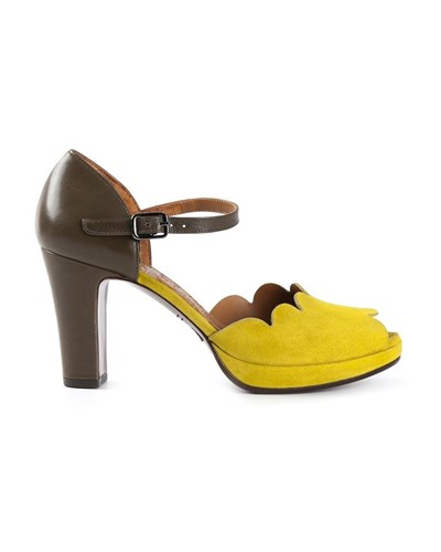 chie mihara damen plateau sandalen mit schnallen 30. Black Bedroom Furniture Sets. Home Design Ideas
