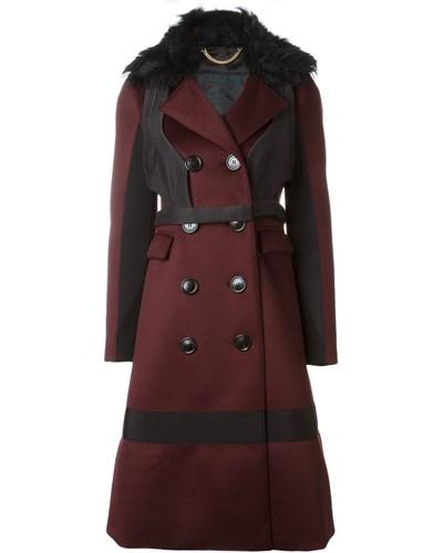burberry damen mantel mit eins tzen 37 reduziert. Black Bedroom Furniture Sets. Home Design Ideas