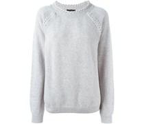 Pullover mit geflochtenen Akzenten