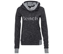 Bench TYREE Kapuzenpullover black/grey
