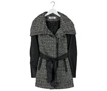 ONLY NEW BRADFORD BOUCLE Wollmantel / klassischer Mantel black