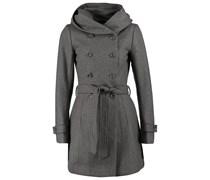 ONLY NEW LISA Wollmantel / klassischer Mantel light grey melange