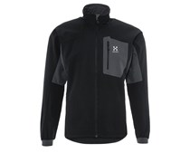 Haglöfs LIZARD Softshelljacke true black/magnetite