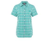 Jack Wolfskin RIVER Bluse deep mint checks