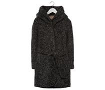 mint&berry Wollmantel / klassischer Mantel anthracite melange