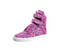 Supra WOMENS SOCIETY II Sneaker high orchid flower/white