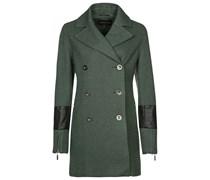 ChillNorway TUVA Wollmantel / klassischer Mantel green