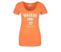 G.I.G.A. DX ARVA TShirt print orange melange