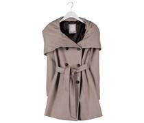 s.Oliver Wollmantel / klassischer Mantel brown melange