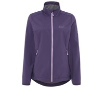 Jack Wolfskin ELEMENT Softshelljacke prune