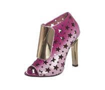 Jeffrey Campbell Ankle Boot pink/gold