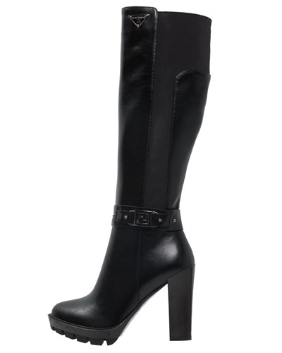 laura biagiotti damen laura biagiotti high heel stiefel black reduziert. Black Bedroom Furniture Sets. Home Design Ideas