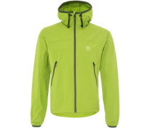 Haglöfs BOA Softshelljacke lime green