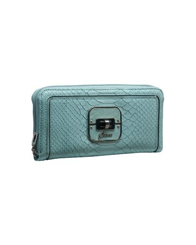 TWYLA LARGE ZIP AROUND ORGANIZER Geldbörse blau