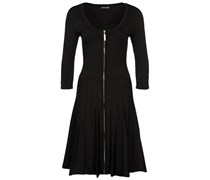 Apart Strickkleid black
