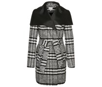 Zalando Collection Wollmantel / klassischer Mantel blackwhite