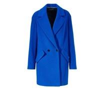 Apart Wollmantel / klassischer Mantel blue royal