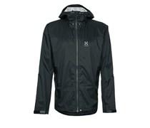 Haglöfs ECLIPSE Regenjacke / wasserabweisende Jacke true black