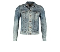 Lee RIDER 125 YEARS Jeansjacke bleach spray