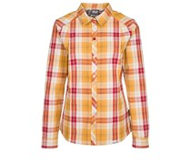 Jack Wolfskin SOUTH RIVER Bluse golden yellow checks