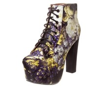 Jeffrey Campbell LITA Schnürstiefelette black yellow