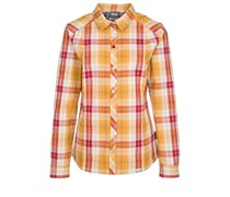 Jack Wolfskin SOUTH RIVER Bluse golden yellow checks