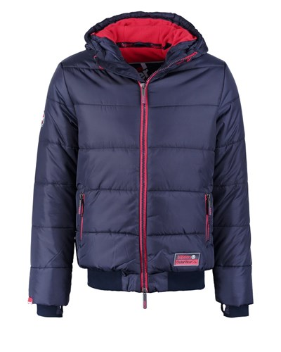 superdry herren superdry winterjacke navy rebell red. Black Bedroom Furniture Sets. Home Design Ideas