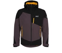 Jack Wolfskin GRAVITY FLEX Softshelljacke dark steel