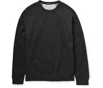 T by Alexander Wang Fleece-Backed Cotton-Jersey Sweatshirt