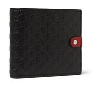 Embossed Leather Billfold Walllet
