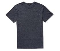 T by Alexander Wang Mélange Linen T-Shirt