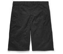 Stretch Cotton-Twill Shorts