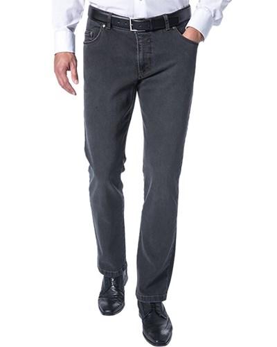 brax herren herren eurex by brax jeans grau unifarben klassisch sportiv reduziert. Black Bedroom Furniture Sets. Home Design Ideas