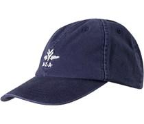 Herren N.Z.A. Cap blau uni mit Motiv Sportiv