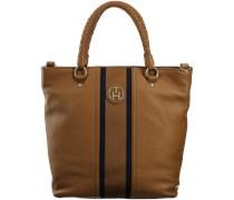 Cognac Tommy Hilfiger Handtasche CLAIRE NS TOTE
