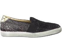 Schwarze Primabase Slip On Sneaker 29501