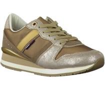 Goldene Tommy Hilfiger Sneaker LAND 1C