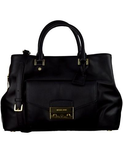 michael kors damen schwarze michael kors handtasche. Black Bedroom Furniture Sets. Home Design Ideas