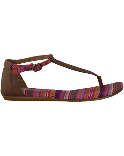 toms damen braune toms sandaletten woven t 10 reduziert. Black Bedroom Furniture Sets. Home Design Ideas