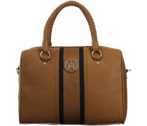 Cognac Tommy Hilfiger Handtasche CLAIRE DUFFLE B