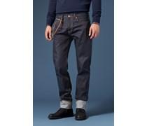 Jeans Milow in Raw Denim Blue