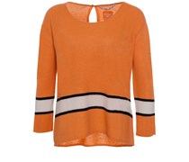Cashmere Sweater Mit 7/8 Ärmeln Waikiki Orange