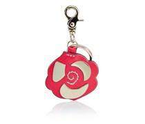 Schlüsselanhänger Blume Rot