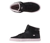 Supra - Hi-tops Vaider - Black Snakeskin Leather